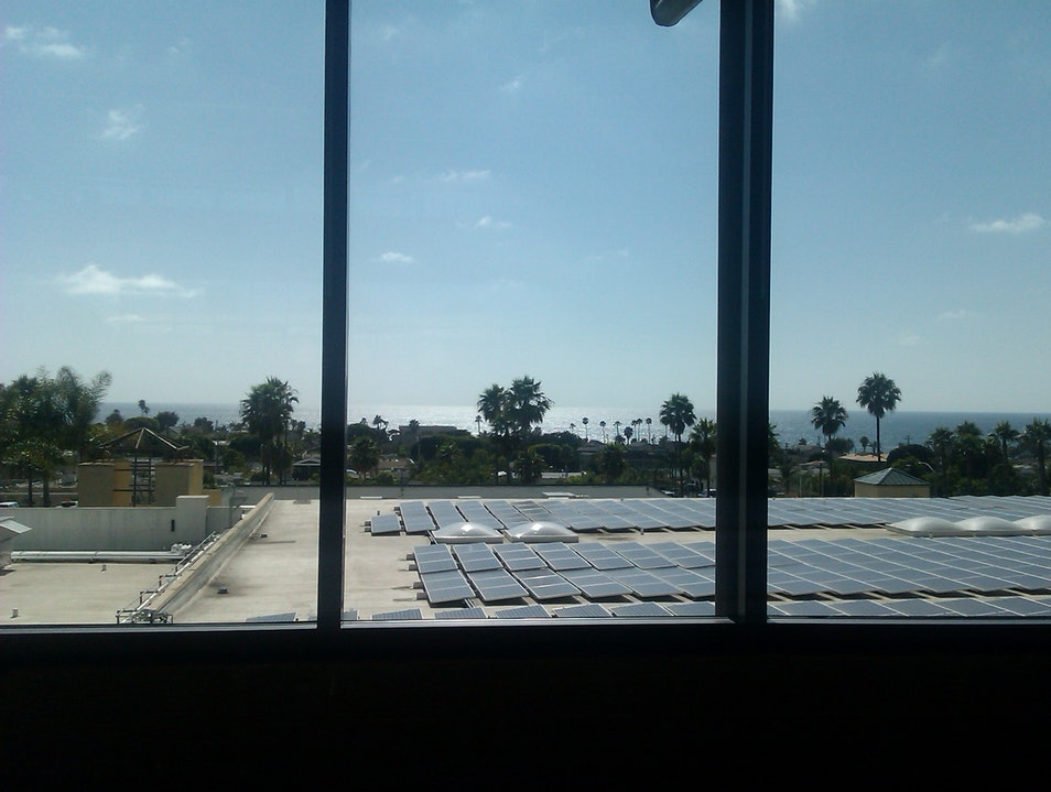 The view from the library in Encinitas Encinitas California United States