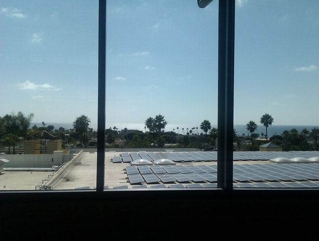 The view from the library in Encinitas