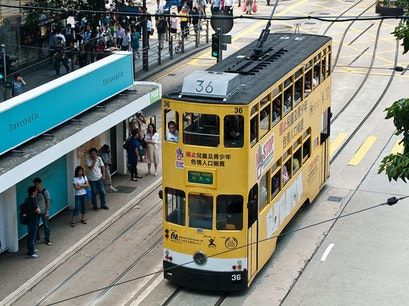 Hong Kong's Historic Trams Hong Kong  Hong Kong