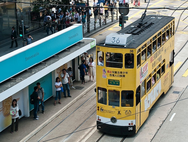 Hong Kong's Historic Trams
