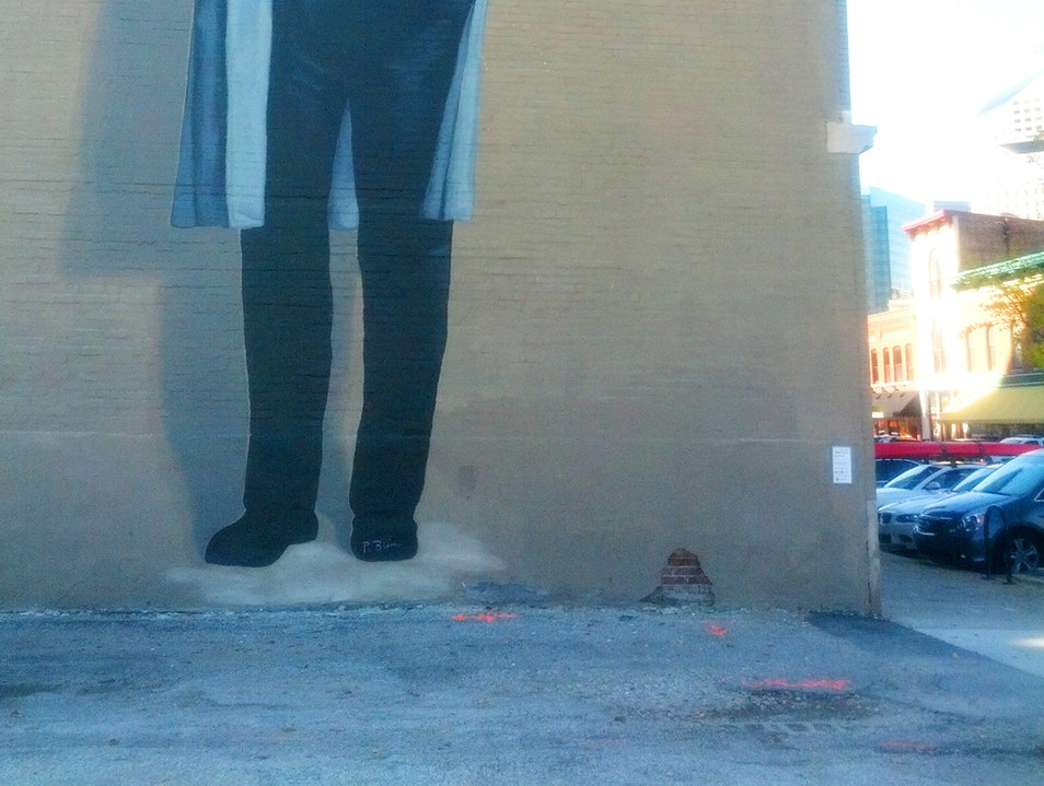 A Larger-Than-Life Vonnegut and Other Interesting Street Art in Indianapolis