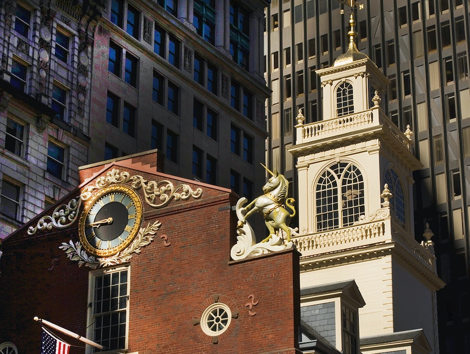 Old State House Boston Massachusetts United States