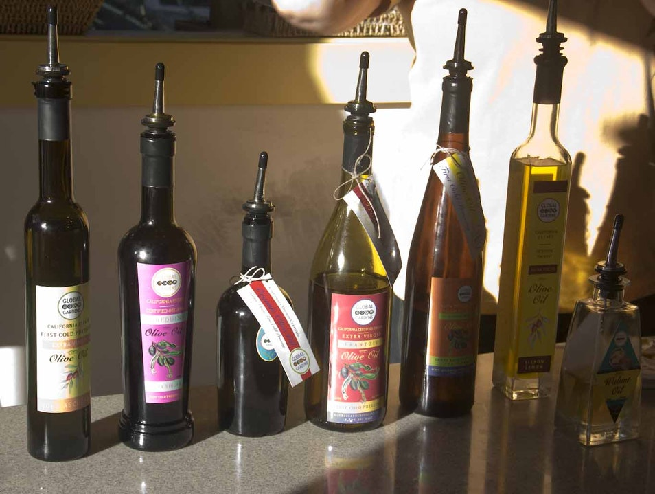 Discover the surprising versatility of oils and vinegars Los Olivos California United States
