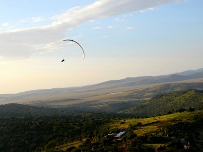 Paragliding at Borana Lodge Laikipia  Kenya