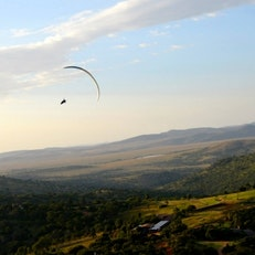 Paragliding at Borana Lodge