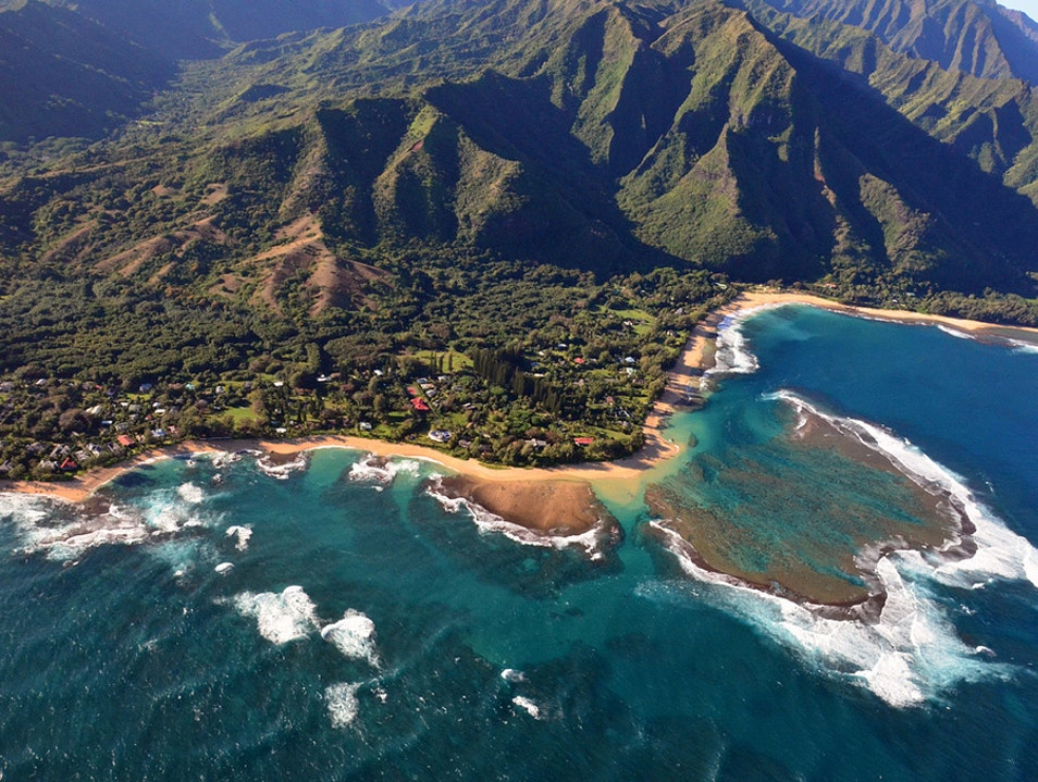 Slow down in Hawaii's beach towns Hanalei Hawaii United States