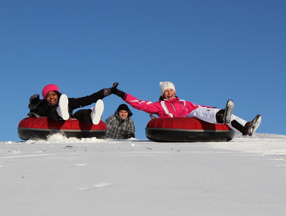 Snow Tubing Mont-Tremblant  Canada