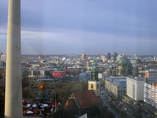 Get a Room with a View at the Park Inn Alexanderplatz