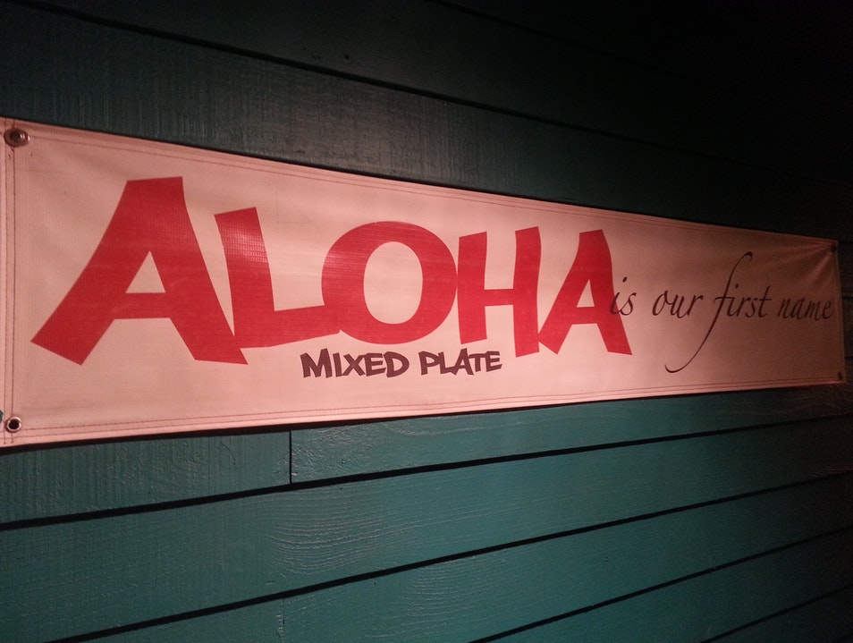 The Best Local Food in Maui