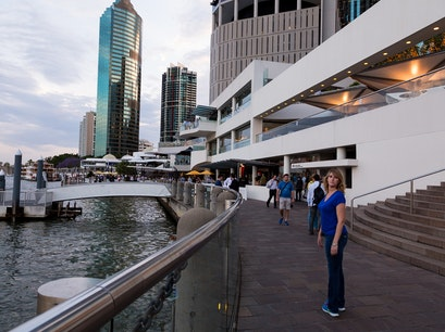 Eagle Street Pier Brisbane City  Australia