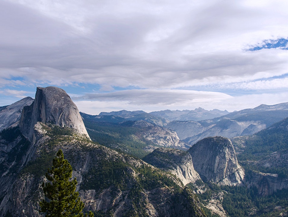 Half Dome  Yosemite Valley California United States