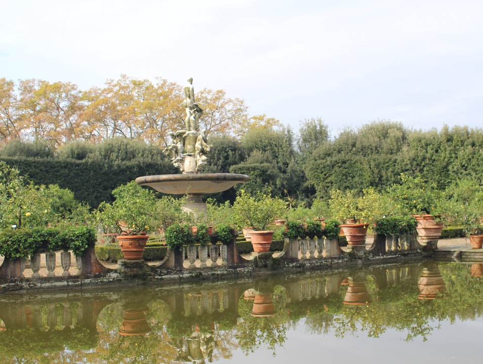 The Isoletto (Island Pond): Boboli Gardens  Florence  Italy
