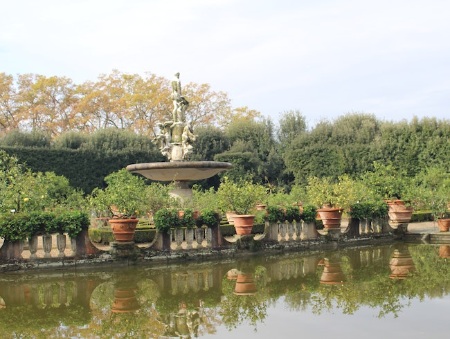 The Isoletto (Island Pond): Boboli Gardens