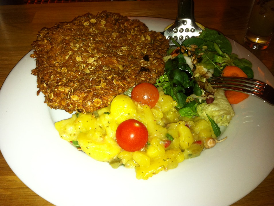 Veal Schnitzel with a Twist Berlin  Germany