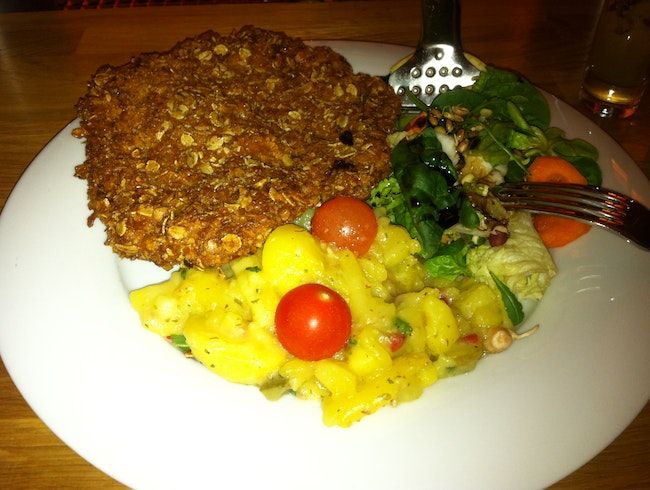 Veal Schnitzel with a Twist