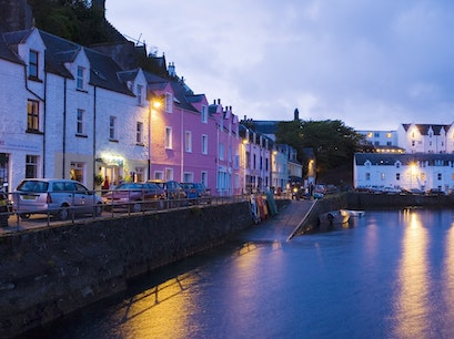 Portree Harbor Portree  United Kingdom