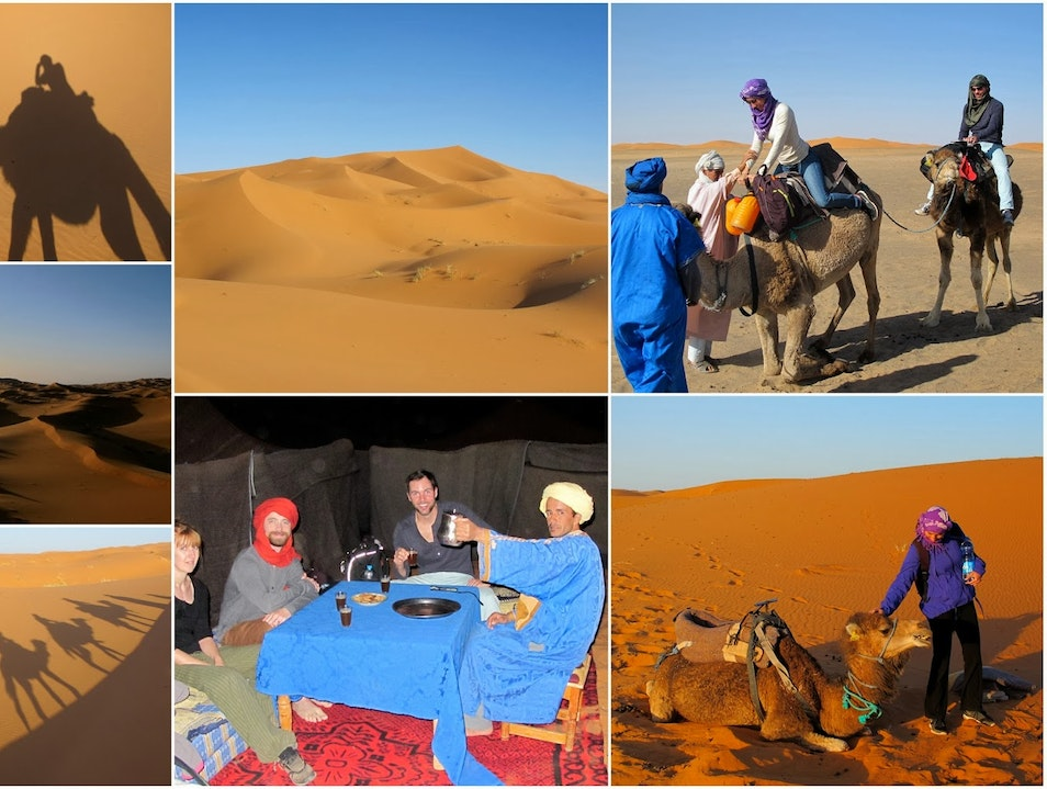 1 Night in the Desert  Camel Tour and Nights in the desert of Merzouga Merzouga  Morocco