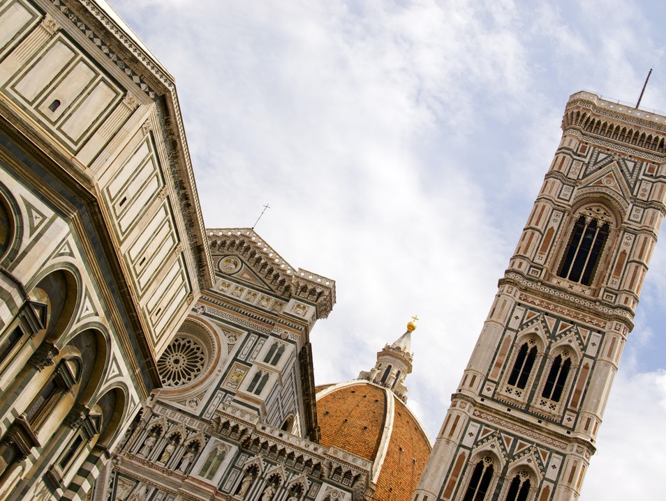 Duomo and Campanile, Florence Florence  Italy