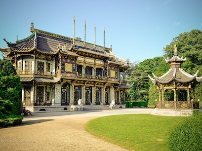 Chinese Pavilion Brussels  Belgium