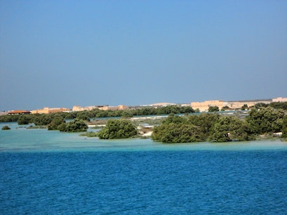 Eastern Mangrove Lagoon National Park Abu Dhabi  United Arab Emirates