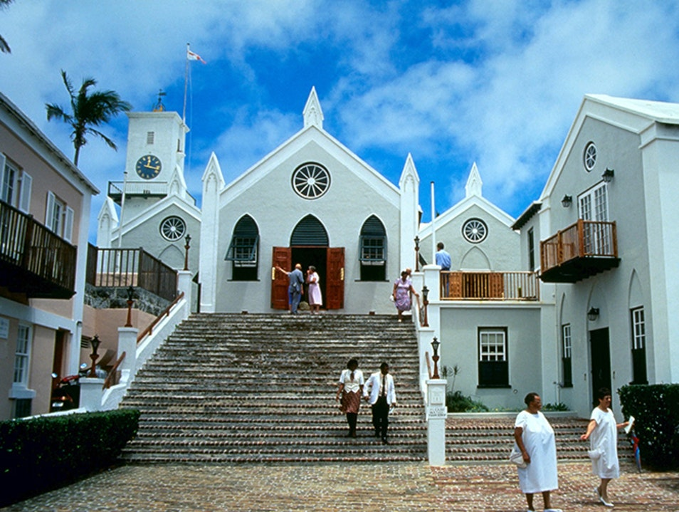 St. Peter's Church St. George  Bermuda