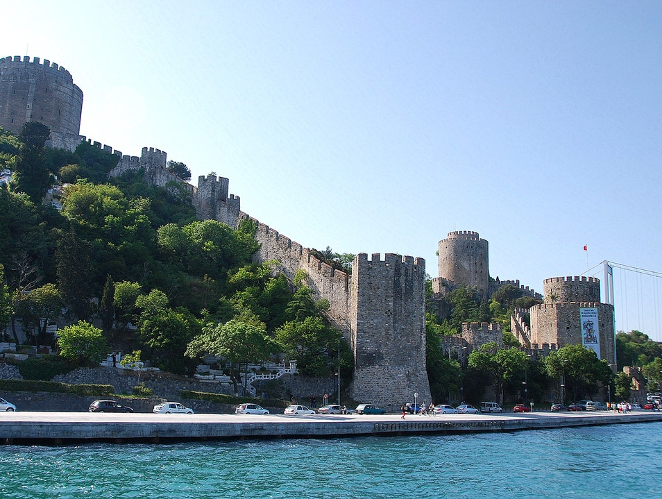 A Fortress in Istanbul Istanbul  Turkey