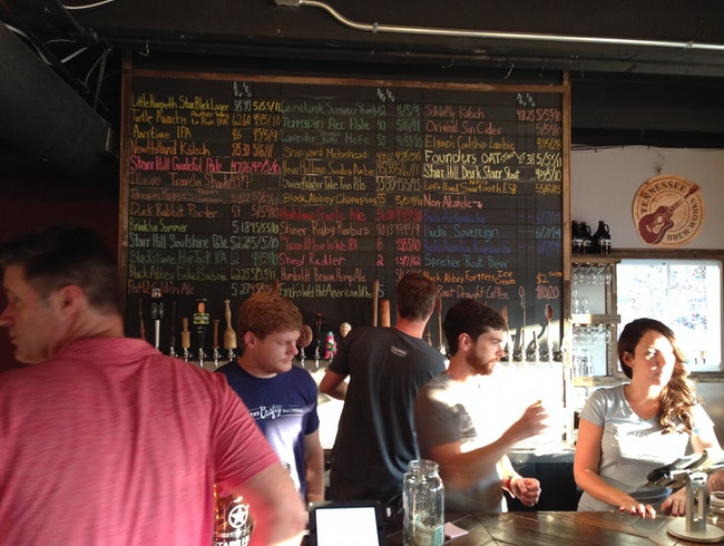 One-stop beer tasting and shopping