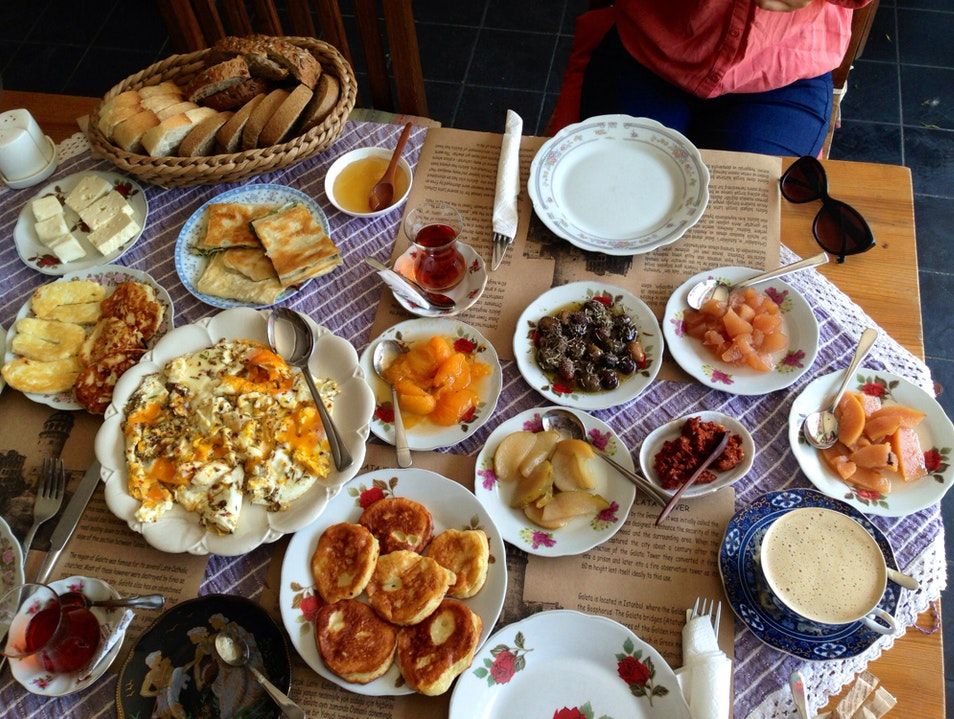 Brunch at Cafe Privato Istanbul  Turkey