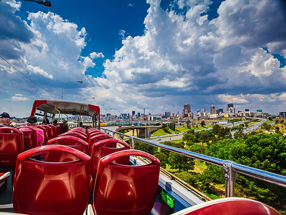Essential Johannesburg: Touring With The Big Red Bus