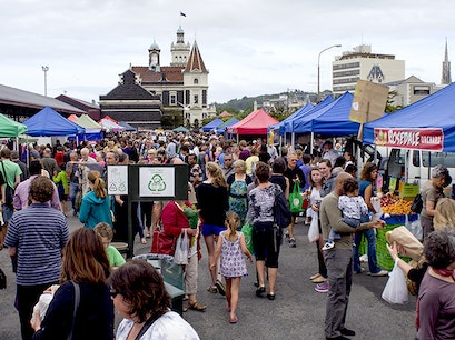 Otago Farmers Market Dunedin  New Zealand