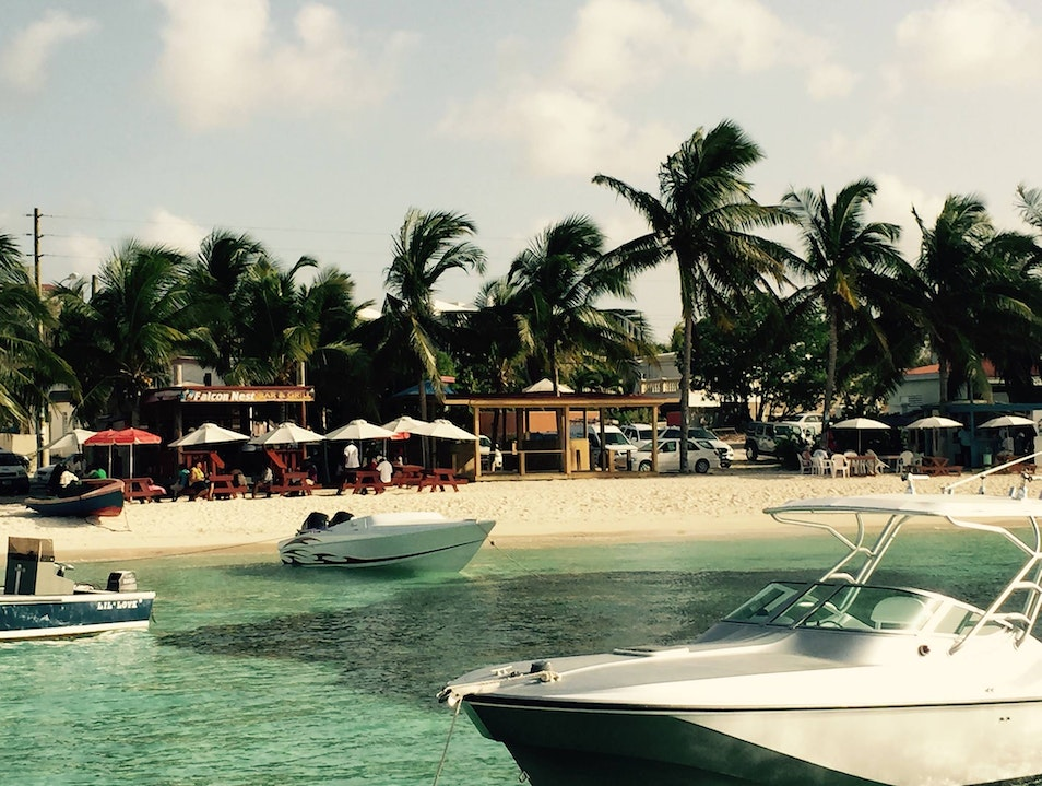 try the fish bits here in Anguilla