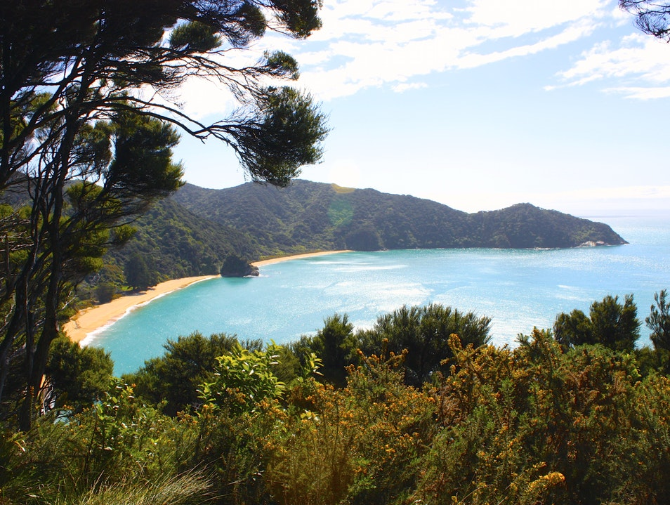 Tramping the Abel Tasman Great Walk Marahau  New Zealand
