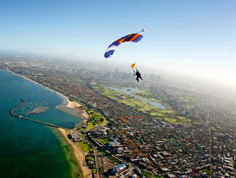 Skydive Down Under Saint Kilda  Australia
