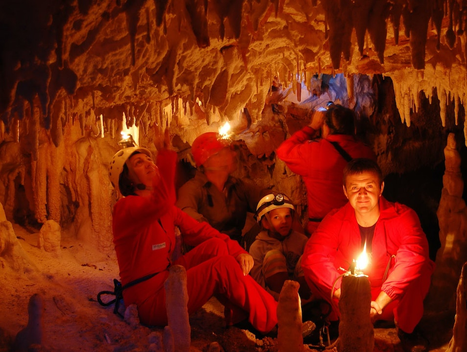 Caving in Western Macedonia Makedonski Brod  Macedonia (FYROM)