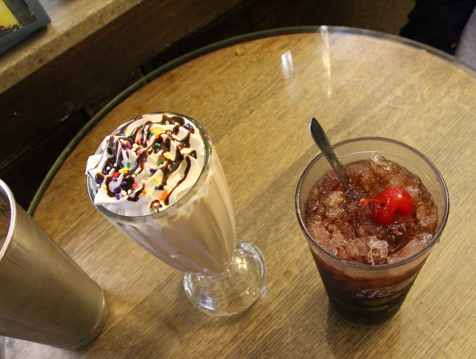 An Authentic Old Time Soda Shop