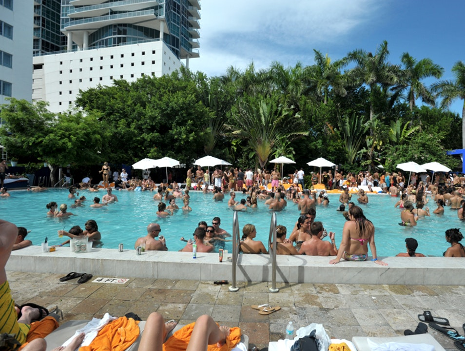 Nothing Like A Miami Beach Pool Party!