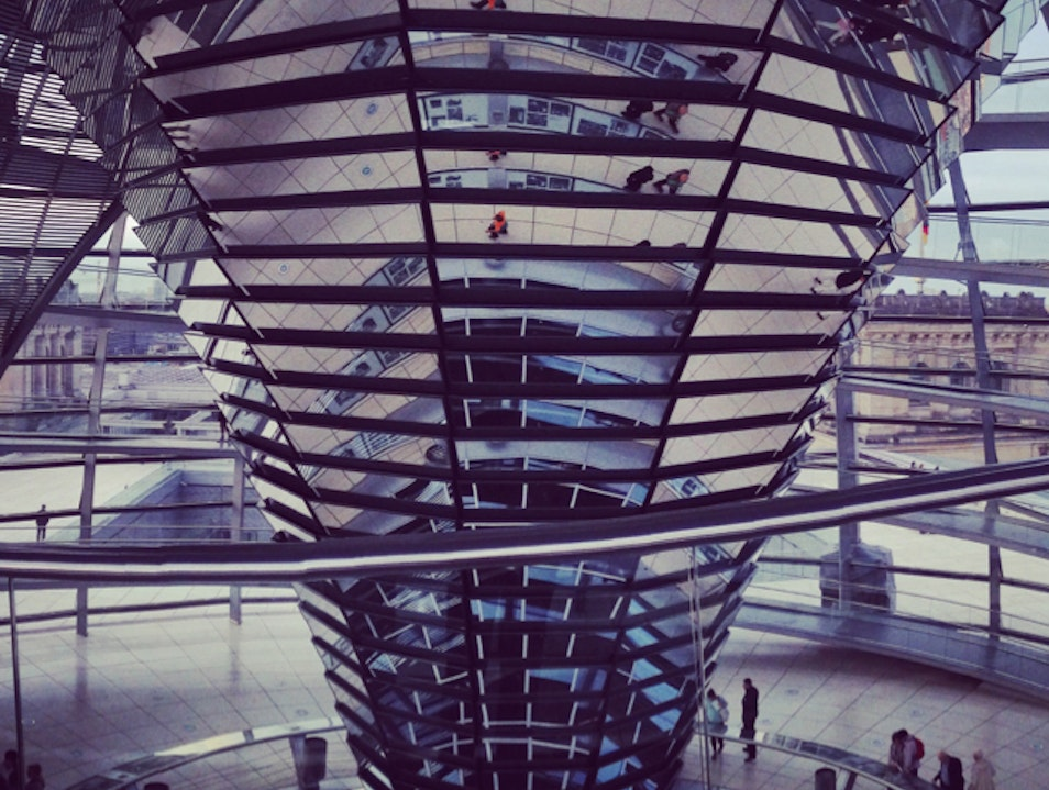 360 degree views from the Bundestag