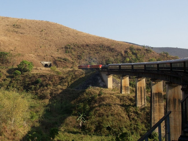All aboard the Tazara Railway!