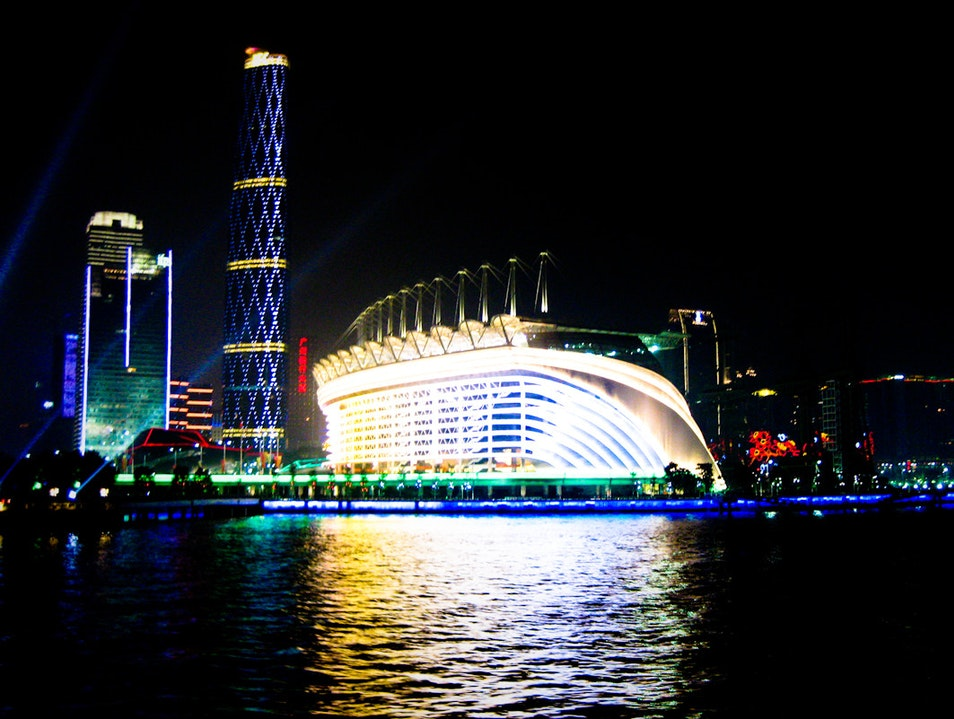 Get a Fresh Look at the Electric Skyline from a Night Cruise on the Pearl River Guangzhou  China