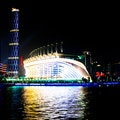 Pearl River Night Cruise (Zhongda Wharf) Guangzhou  China