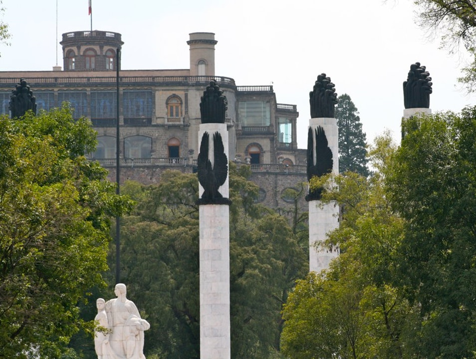 Chapultepec Castle: Witness to History Mexico City  Mexico
