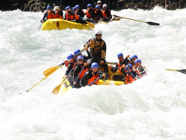 Rafting the Wild Elaho River in Squamish