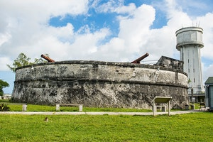 Fort Fincastle and Queen's Staircase