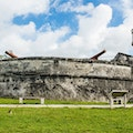 Fort Fincastle and Queen's Staircase Nassau  The Bahamas