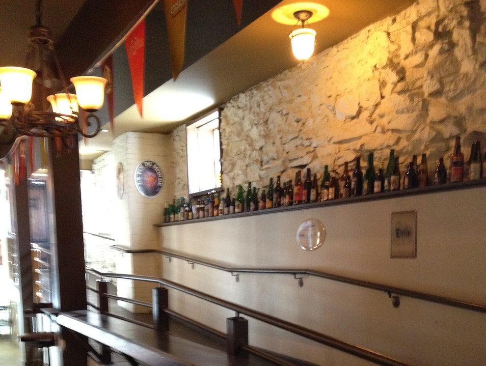 Downstairs Belgian Beer Bar Asheville North Carolina United States