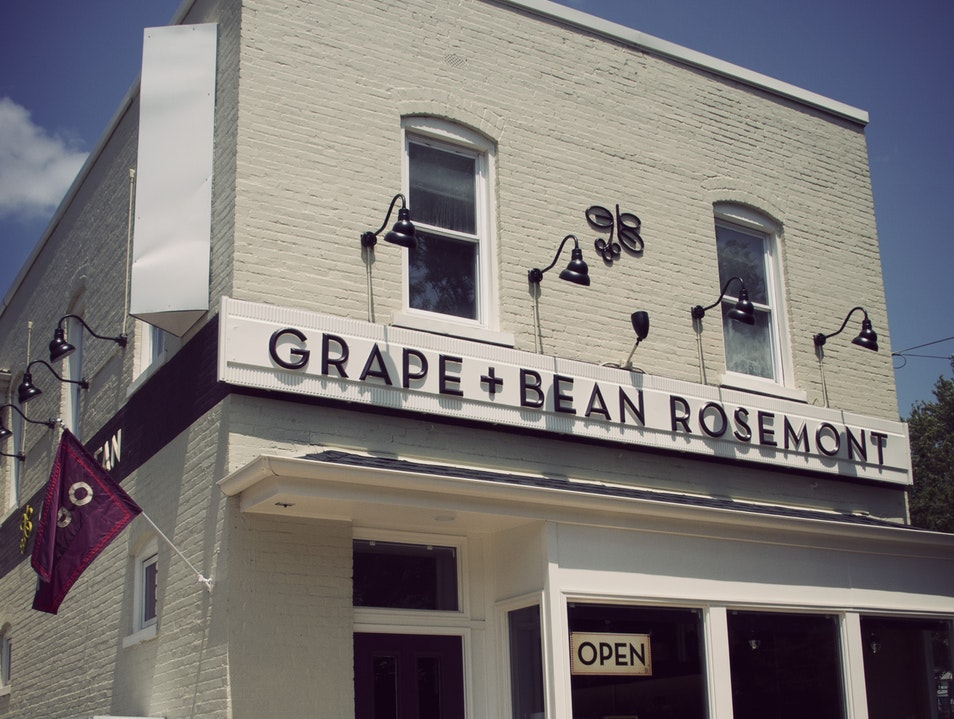 Grape + Bean: Drink, Eat, Shop, and Learn Alexandria Virginia United States