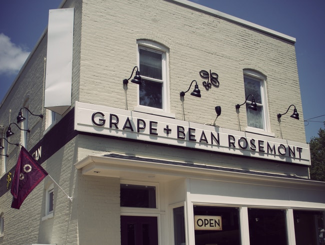 Grape + Bean: Drink, Eat, Shop, and Learn