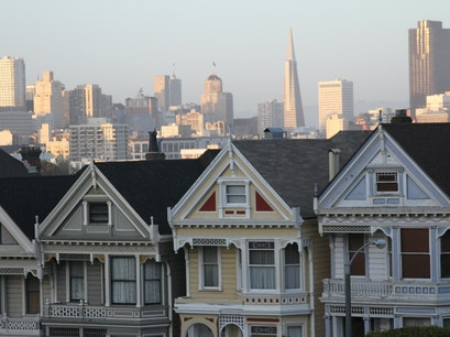 Painted Ladies San Francisco California United States