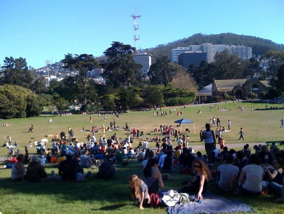 Visit Hippie Hill in San Francisco's Golden Gate Park San Francisco California United States