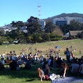 Hippie Hill San Francisco California United States